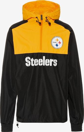 NEW ERA Tussenjas 'Pittsburgh Steelers' in de kleur Geel / Zwart, Productweergave