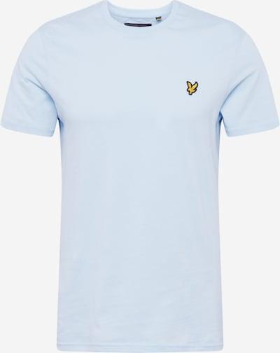Lyle & Scott Shirt in de kleur Lichtblauw / Geel, Productweergave
