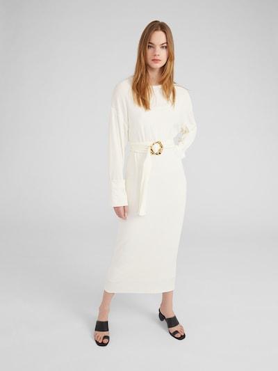 EDITED Kleid 'Saige' in creme, Modelansicht