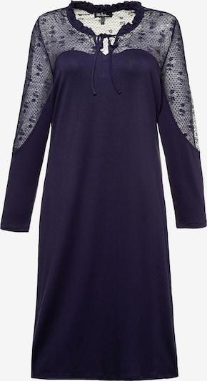 Ulla Popken Koszula nocna 'Spitze' w kolorze niebieskim, Podgląd produktu