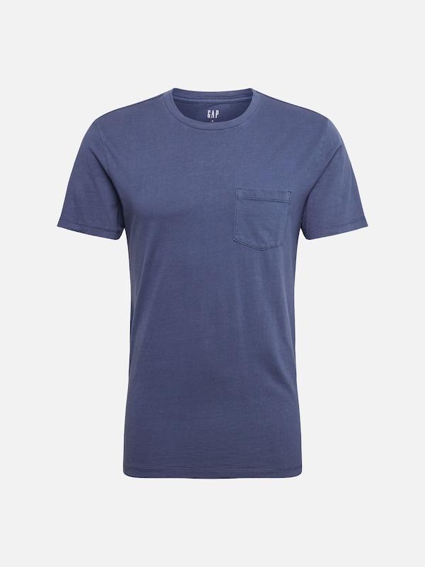 Marine Gmt Wsh shirt T Bleu T' En Gap Pkt 'ss zq4FBppwt