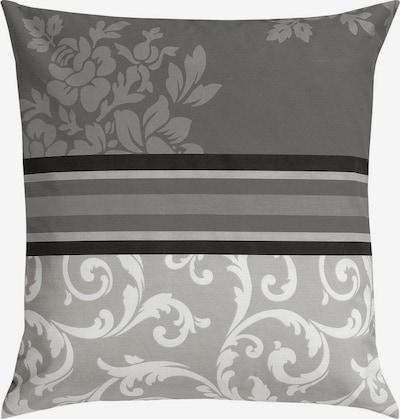 MY HOME Kissenhüllen in anthrazit / schwarz / weiß, Produktansicht