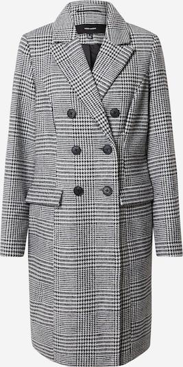 VERO MODA Manteau d'hiver 'Hafia' en noir / blanc, Vue avec produit