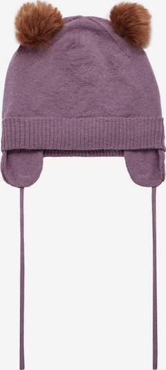 NAME IT Hut in braun / helllila, Produktansicht