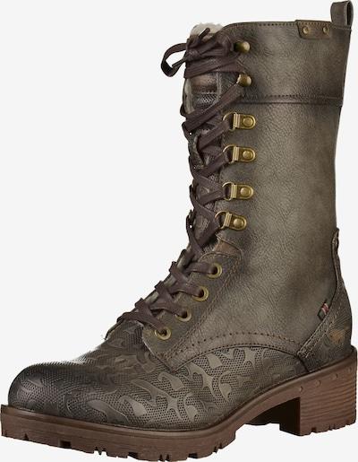MUSTANG Stiefel in khaki, Produktansicht