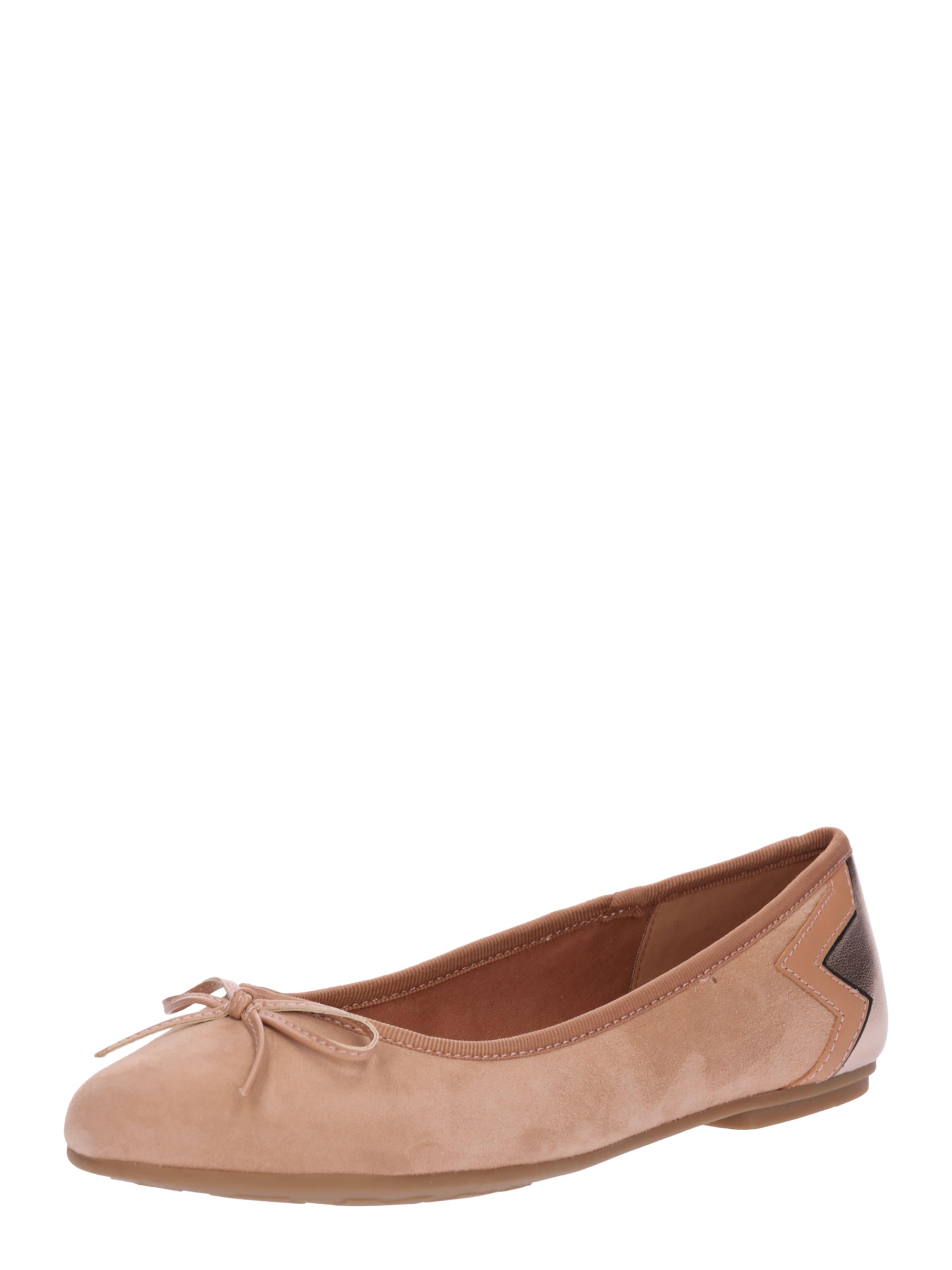 TOMMY HILFIGER Leder-Ballerina Verschleißfeste billige Schuhe