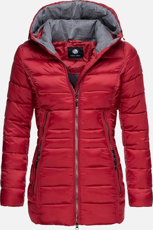 Peak Time Winterjacke 'L60112' in rot, Produktansicht