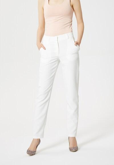 MYMO Pantalon en blanc: Vue de face
