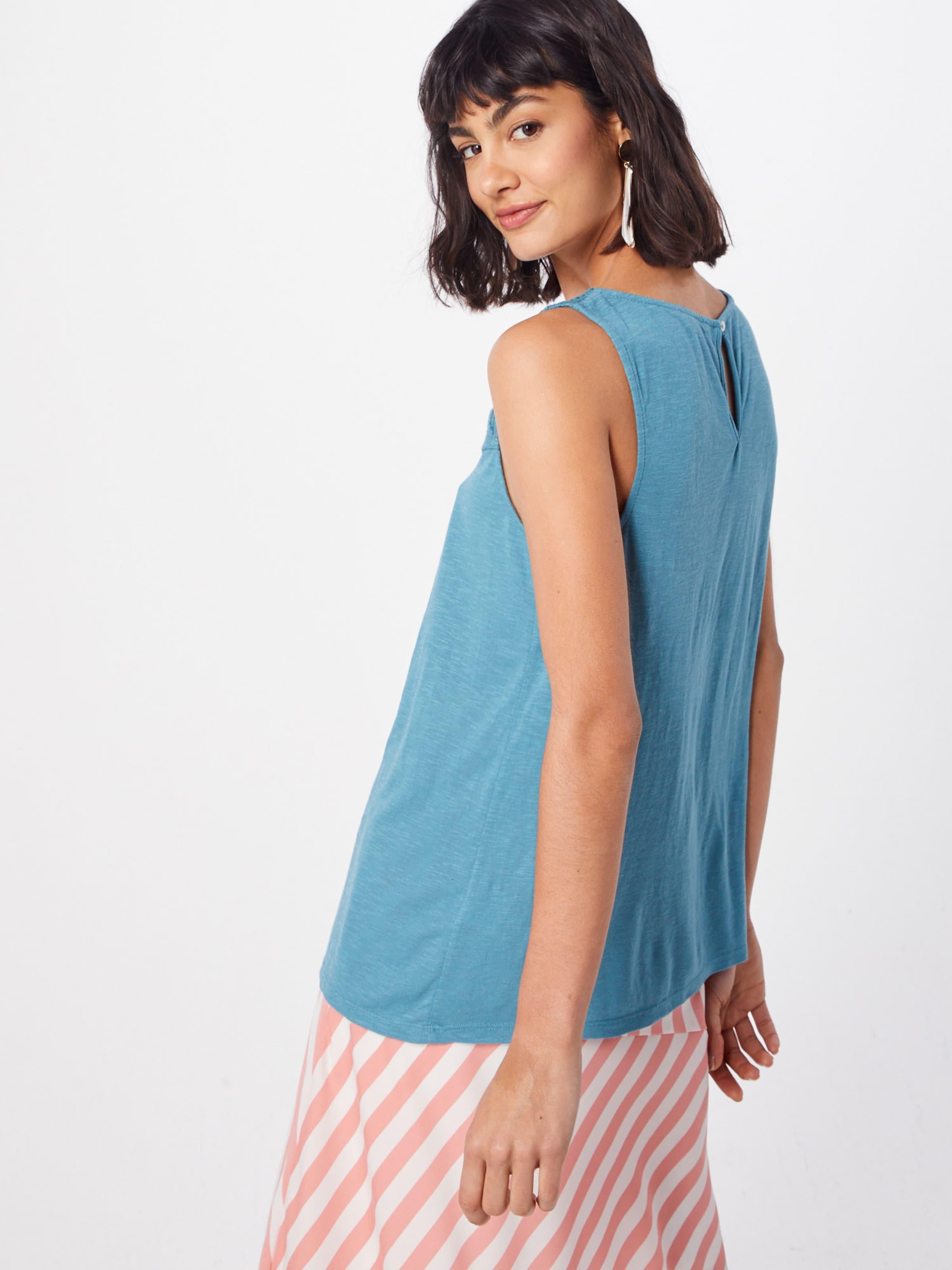 Haut Esprit En Bleu 'crochet Top' 0Nw8nvm