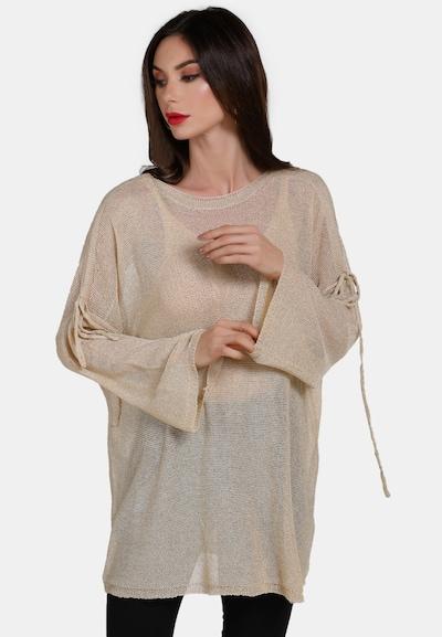 faina Pullover in beige, Modelansicht