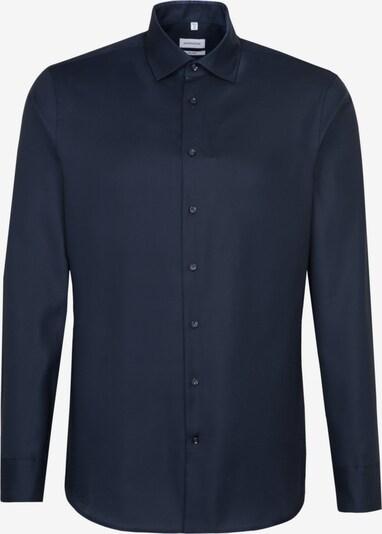 SEIDENSTICKER Hemd 'Shaped' in nachtblau, Produktansicht