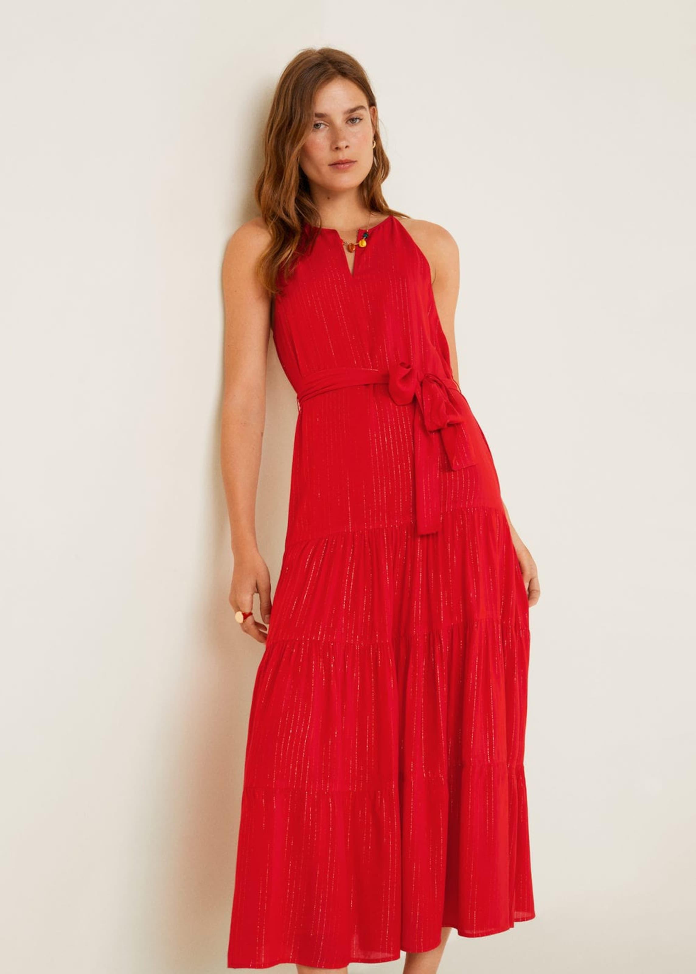 Mango Mango 'rojito' Kleid In Kleid 'rojito' Rot OmN0yvnw8