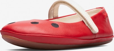 CAMPER Ballerinas 'Right' in rot / schwarz, Produktansicht