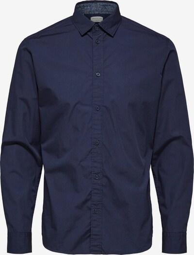 SELECTED HOMME Overhemd in de kleur Nachtblauw: Vooraanzicht