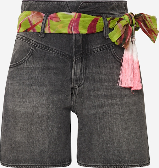 GUESS Shorts 'THE IT GIRL' in grey denim, Produktansicht