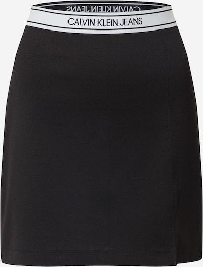 fekete / fehér Calvin Klein Jeans Szoknyák 'Milano', Termék nézet