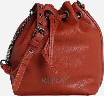 Sutrauktinė rankinė iš REPLAY , spalva - rūdžių raudona, Prekių apžvalga