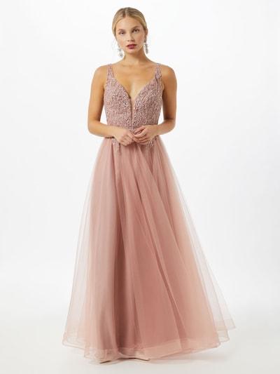 Unique Kleid in puder, Modelansicht