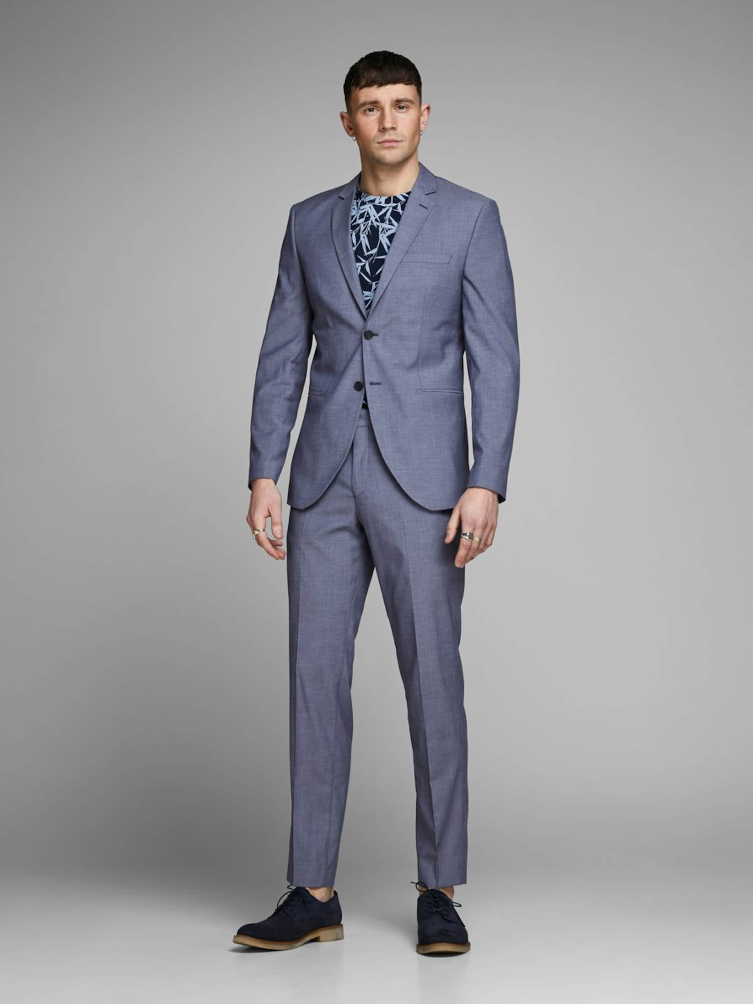 Jones gris En Bleu De Jackamp; Veste Costume 1FlKJc