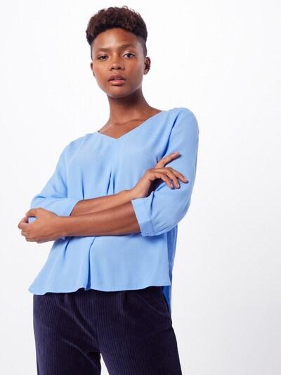 TOM TAILOR DENIM Blusenshirt in blau, Modelansicht