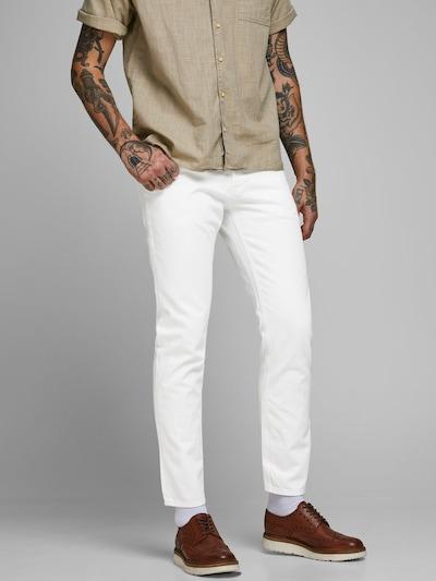 JACK & JONES Jeans 'Mike' in weiß, Modelansicht