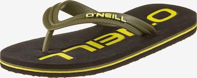 O'NEILL Offene Schuhe in neongelb / schwarz, Produktansicht