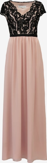 Young Couture by BARBARA SCHWARZER Avondjurk in de kleur Nude / Zwart, Productweergave
