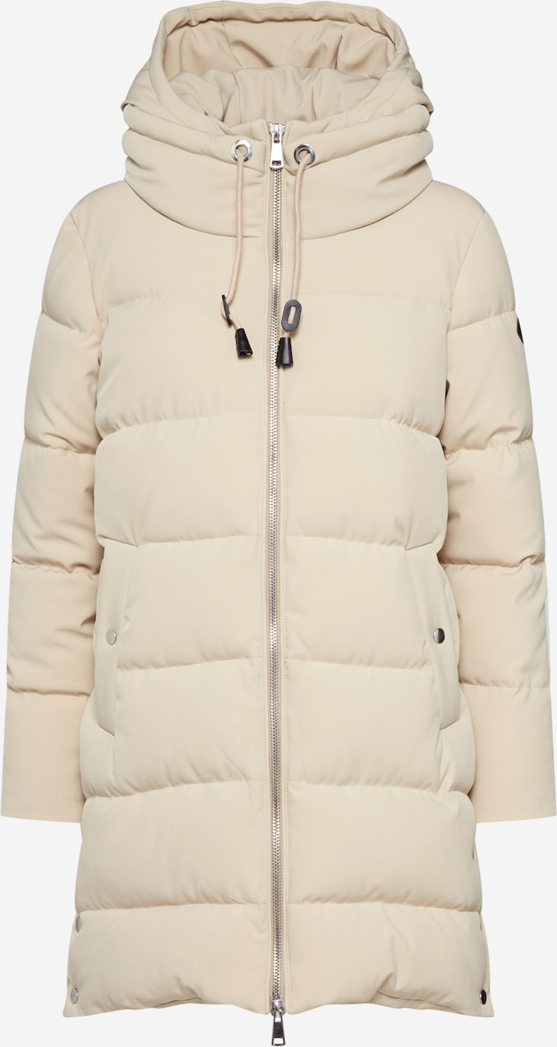 ESPRIT Wintermantel 'Padded Coat' in Beige | ABOUT YOU