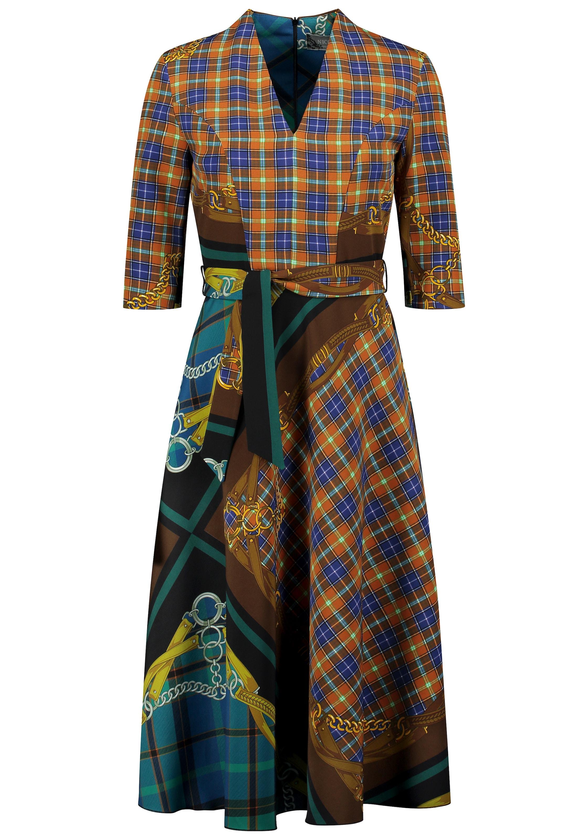 Nicowa Kleid 'OISANNA' in blau / mischfarben