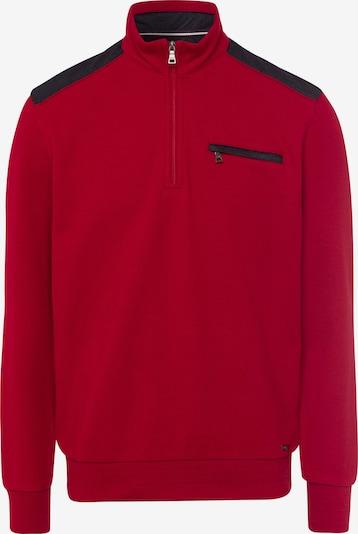 BRAX Pullover 'Siro' in feuerrot / schwarz, Produktansicht