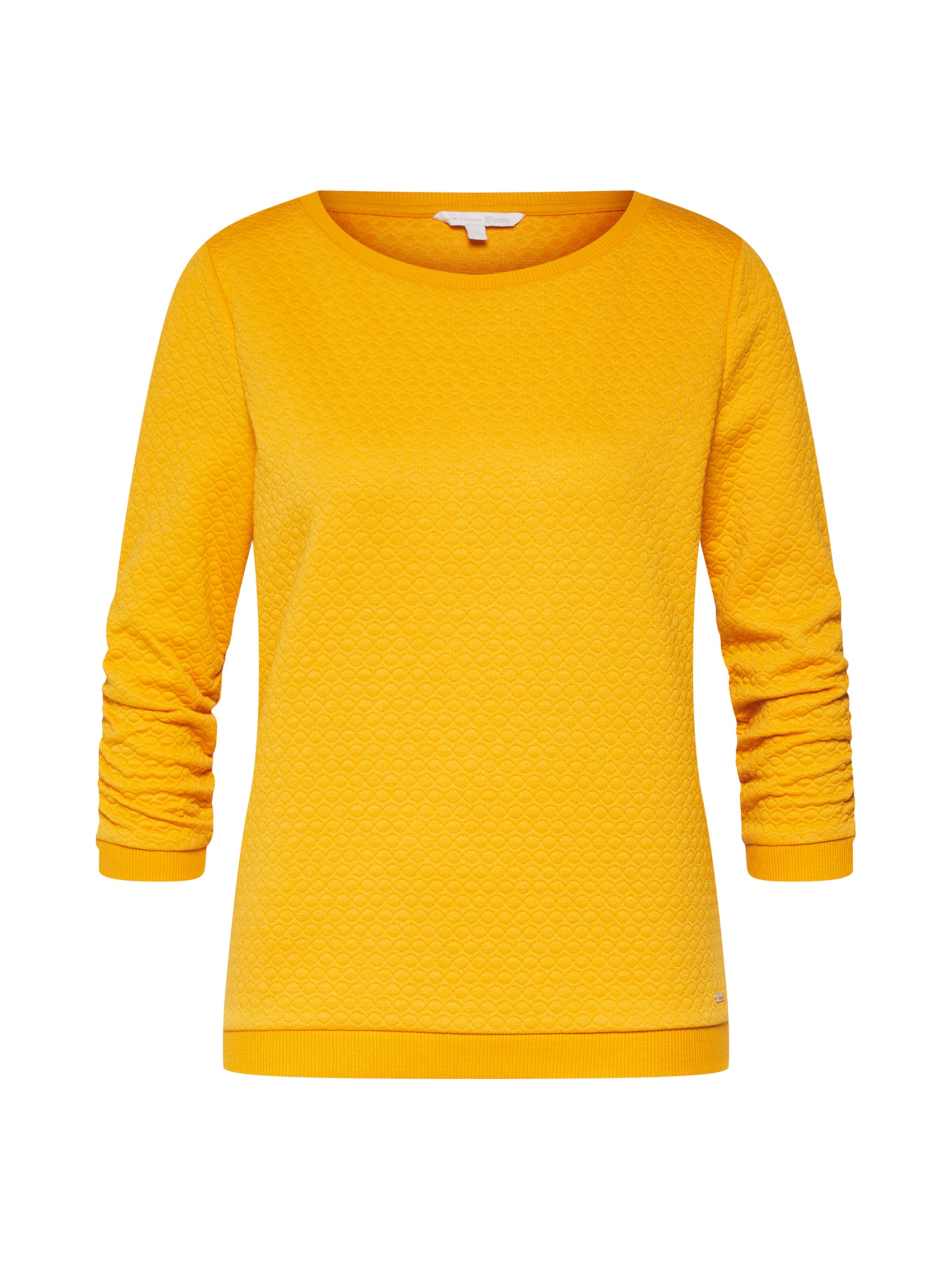 shirt Tom En Sweat Moutarde Tailor Denim pSVqGLMUz
