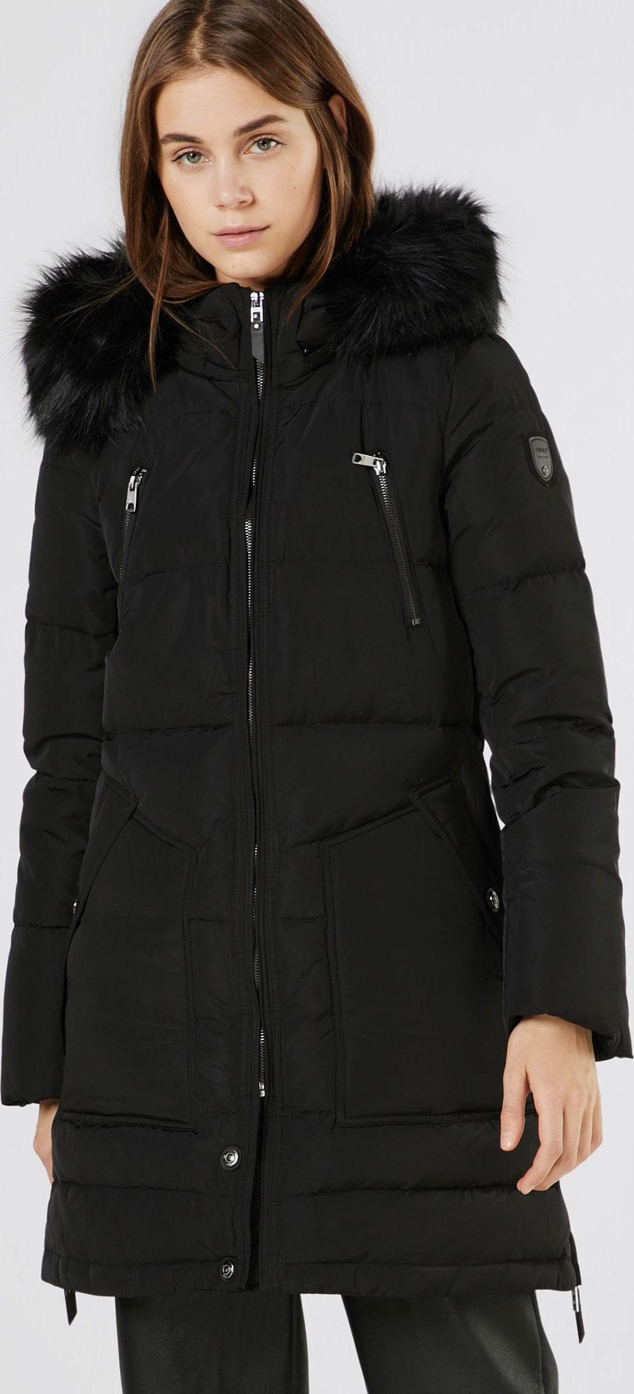 only wintermantel 39 onlrhoda 39 in zwart about you. Black Bedroom Furniture Sets. Home Design Ideas