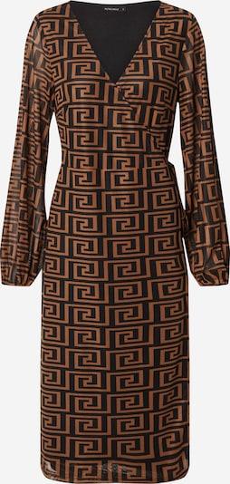 Rut & Circle Robe 'Mindy' en marron / noir, Vue avec produit