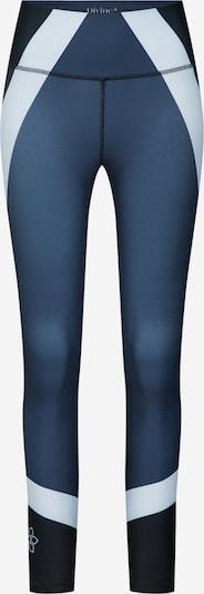 Divine Flower Sport-Leggings 'Antiope' in hellblau / dunkelblau, Produktansicht