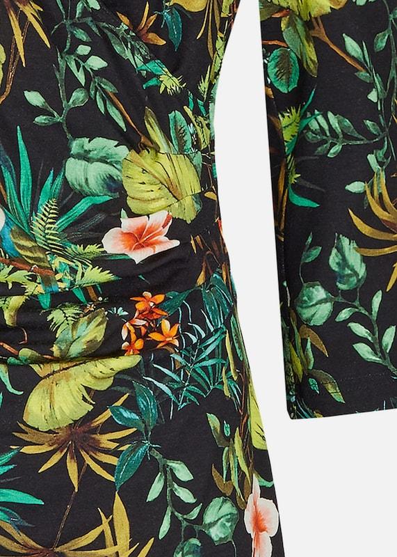 DANIEL HECHTER Modernes Kleid mit Palmenprint