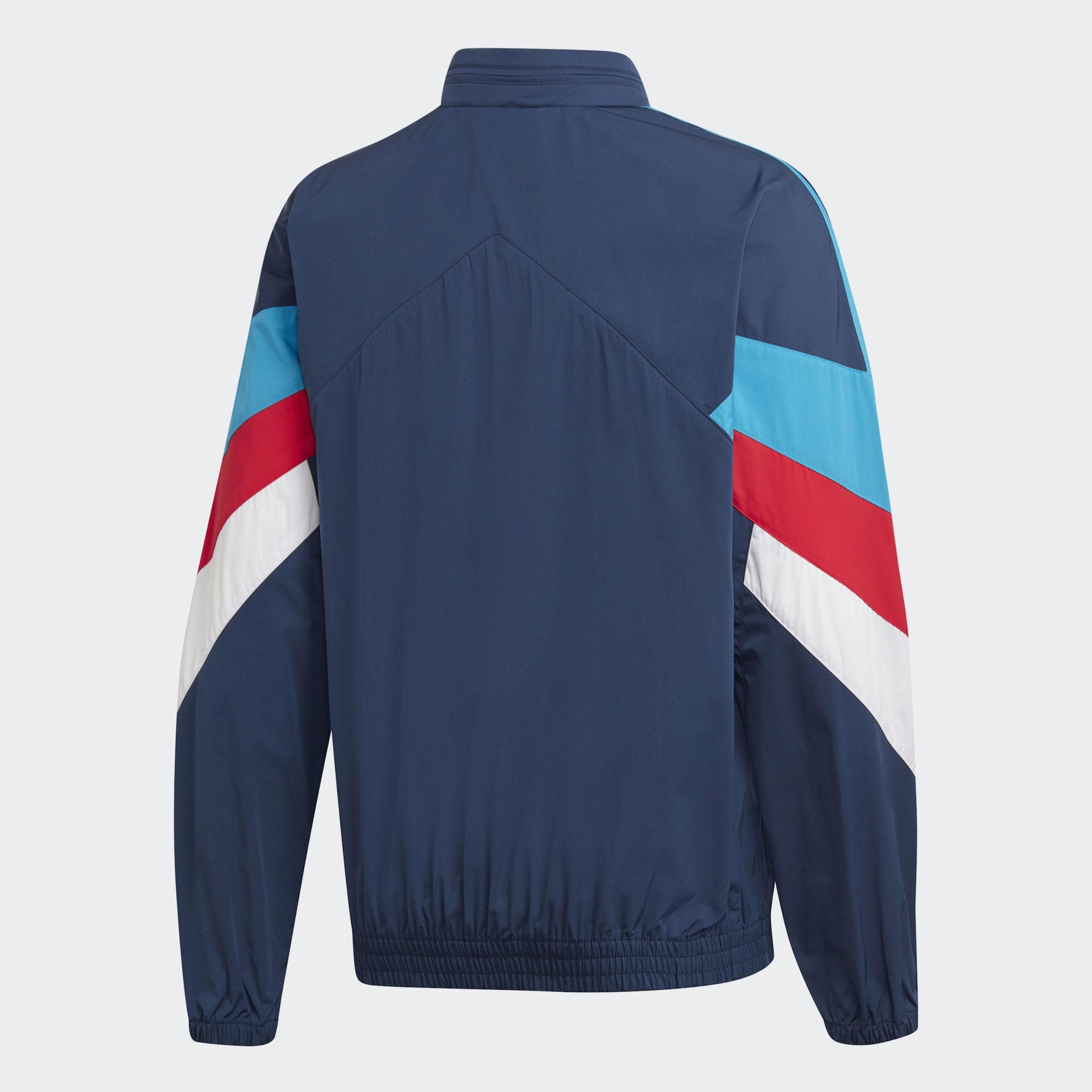 Adidas Originals In Weiß BlauHellblau Jacke Rot R4Lq3A5j