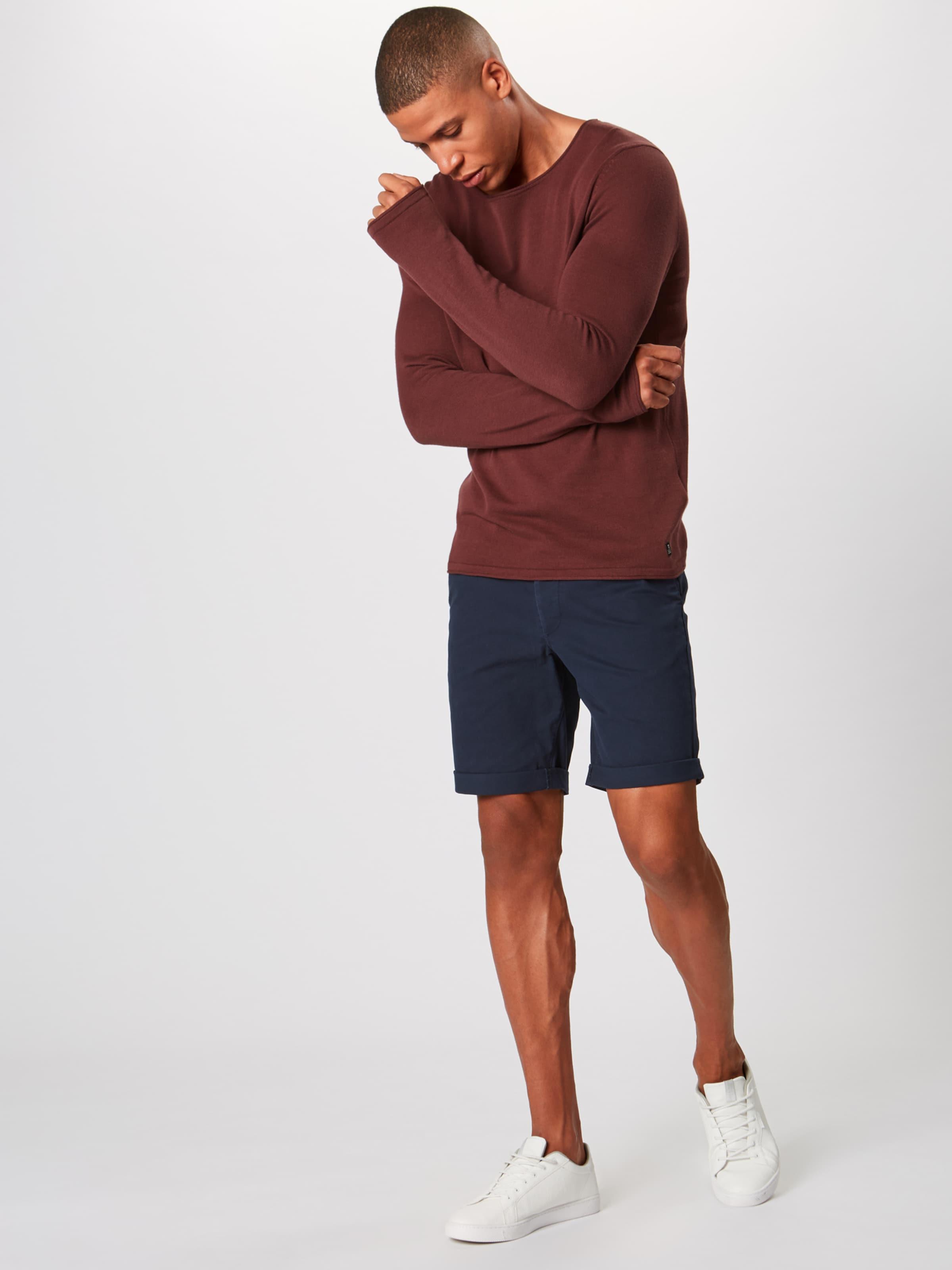 Jones Jackamp; Pantalon En Foncé 'enzo' Bleu Chino dBECeWQrxo