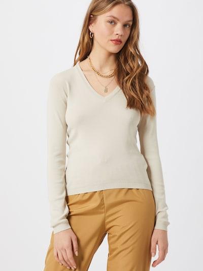 UNITED COLORS OF BENETTON Pullover in beige, Modelansicht