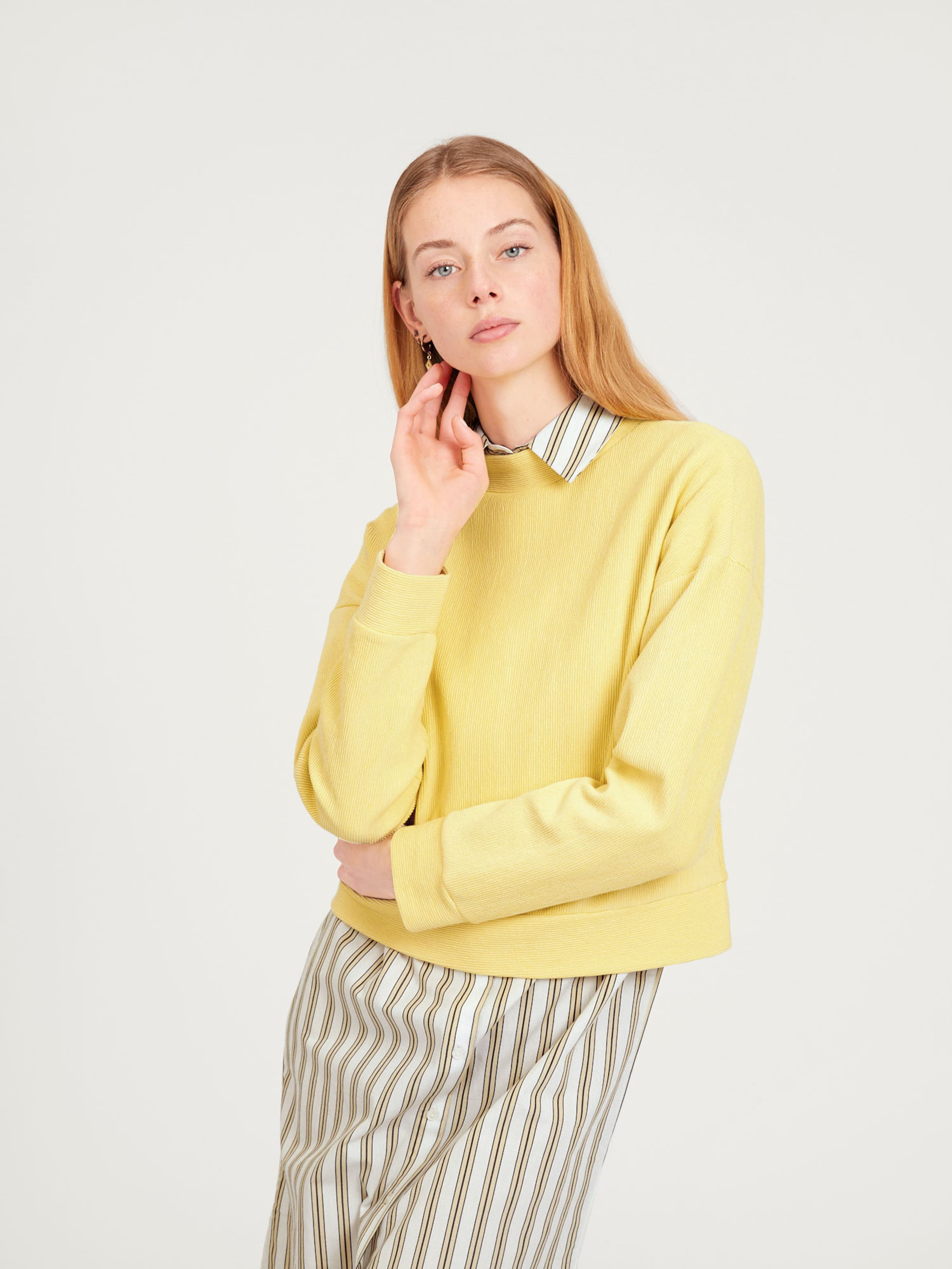 Sweatshirt 'fidelia' 'fidelia' Sweatshirt Gelb Edited In Edited VLqSMpGjUz