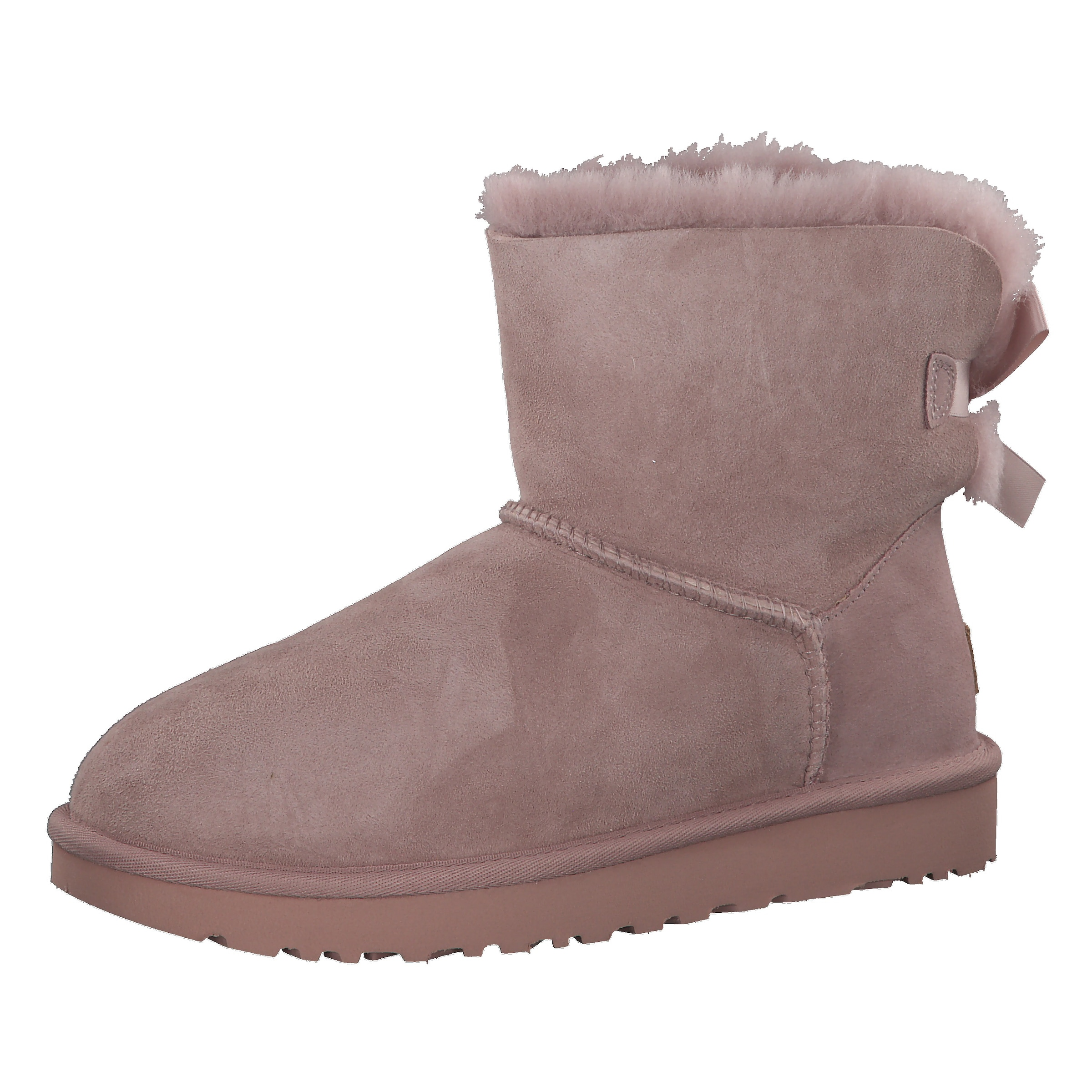 'mini Bow Bailey Boots In Grau Ugg Ii' Pk80wOn