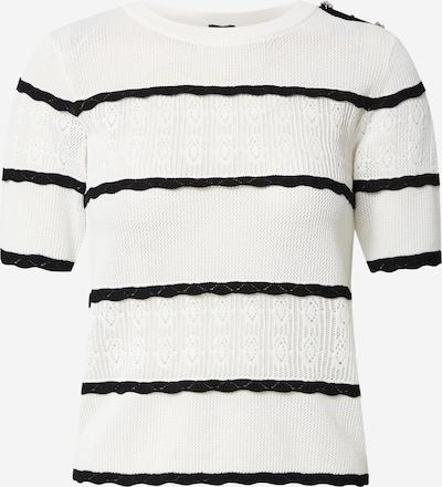 River Island Pullover in schwarz / weiß, Produktansicht