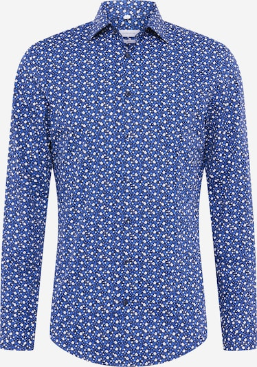 SEIDENSTICKER Hemd in himmelblau / dunkelblau / weiß, Produktansicht