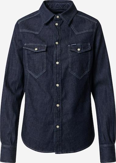 G-Star RAW Bluse in dunkelblau: Frontalansicht