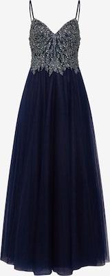 Robe de soirée - Unique en bleu nuit