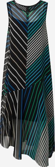 Marc Cain Kleid in beige / himmelblau / dunkelblau / grün, Produktansicht