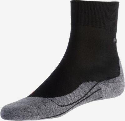 FALKE RU4 Laufsocken Damen in grau / schwarz, Produktansicht