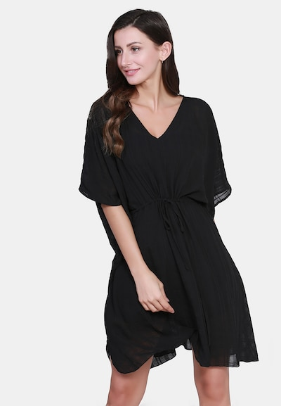 Usha Tuniek in de kleur Zwart, Modelweergave