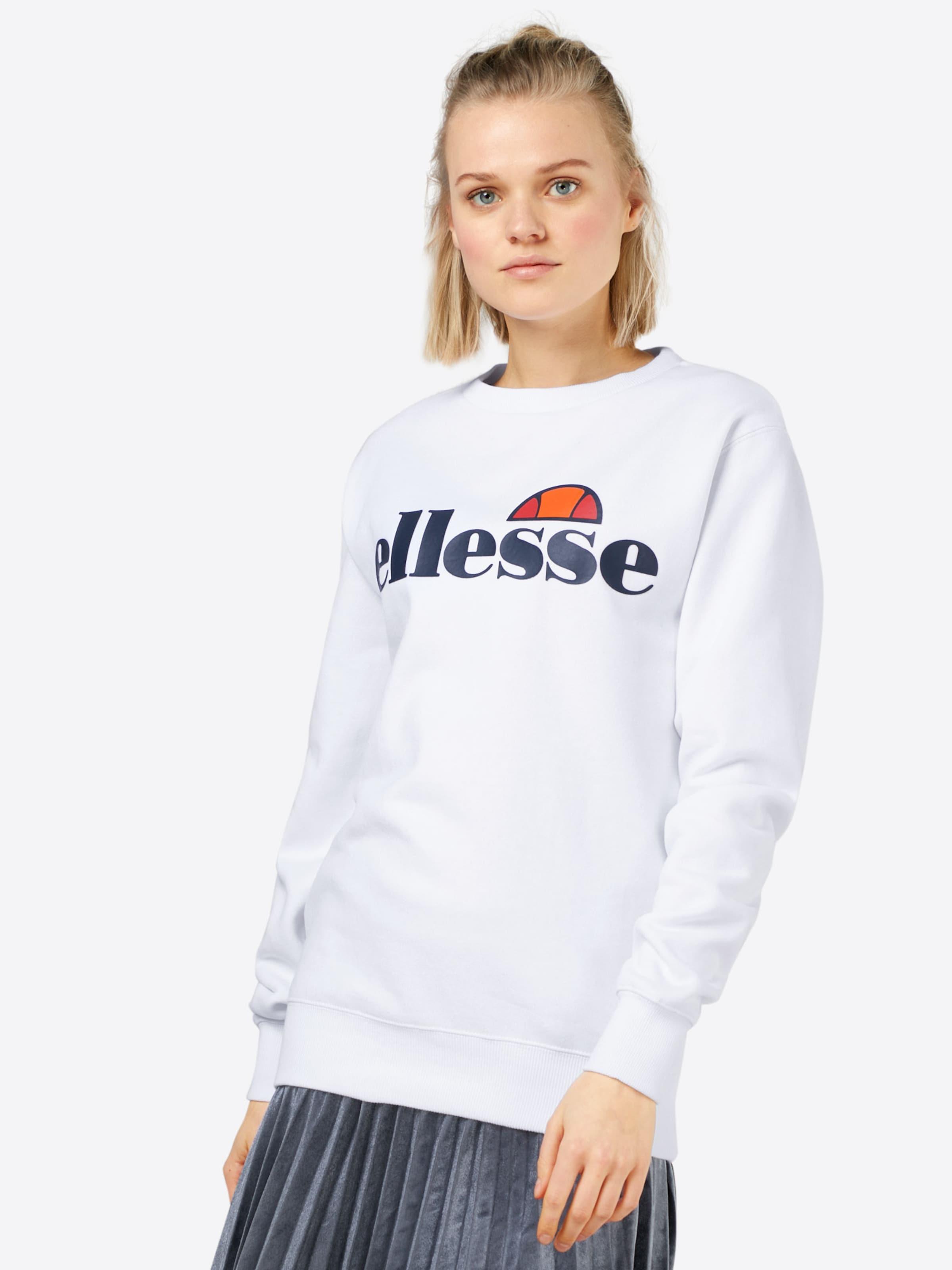 Blanc 'agata' En shirt Ellesse Sweat dCoexB
