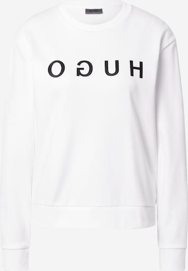 HUGO Sweatshirt 'HUGO' in schwarz / weiß, Produktansicht