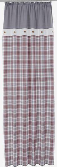 MY HOME Vorhang in grau / hellgrau, Produktansicht